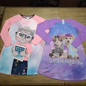 Children's Place Lot Of 2 Nightgowns XXL 16